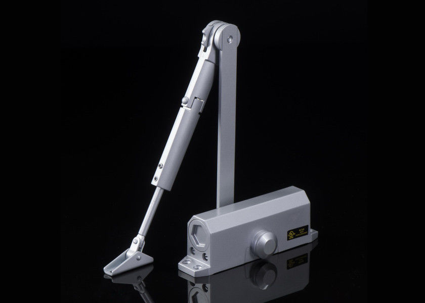 Light Duty Automatic Hydraulic Door Closer With Hold Open Opening Angle 120 Degree